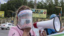 autoconvocados de salud vuelven a las rutas en una nueva jornada de lucha