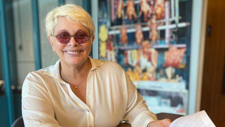 Volvió Carmen Barbieri tras recibir el alta por el coronavirus