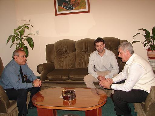 Baratti se reunió con el Jefe de la Policía de Río Negro