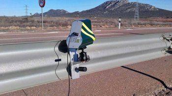 colocaran otro radar de velocidad en la ruta 22