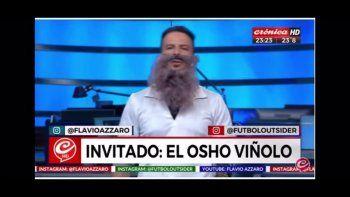 La imperdible imitación al Vignolo bostero en la vuelta de Azzaro