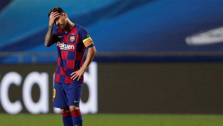 Messi anunció una conferencia de prensa para despedirse del Barcelona