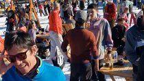 esquiadores zafan del juicio con donaciones y vuelos sanitarios
