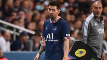 Fuerte crítica de la prensa francesa a Messi: Se está marchitando
