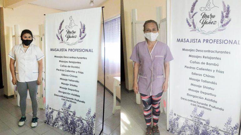 La maratón de masajes gratis para personal de salud fue un éxito