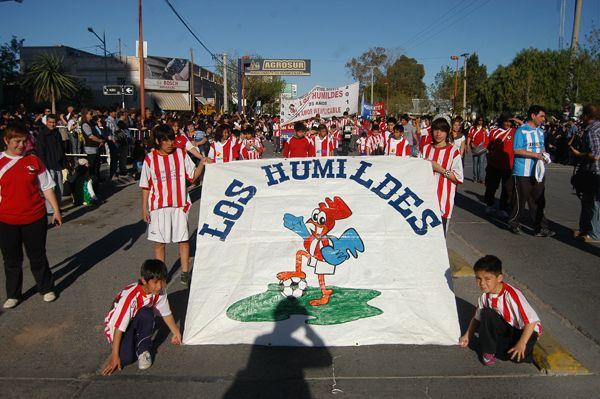 Impresionante desfile de celebración