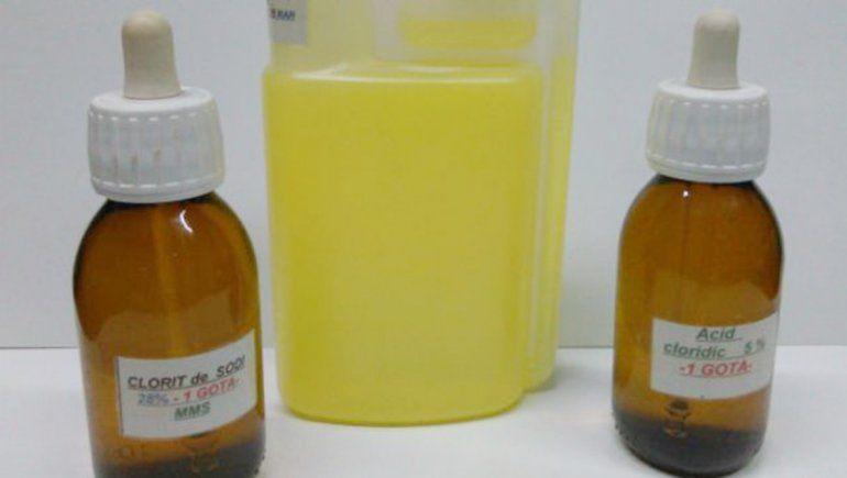 Una beba en grave estado tras tomar dióxido de cloro