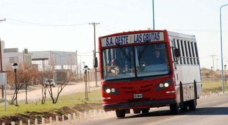 Prorrogan concesión por la Línea Sur a empresa de colectivos Las Grutas