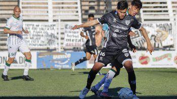 Nicolás Trecco, sigue sumando ritmo futbolístico.