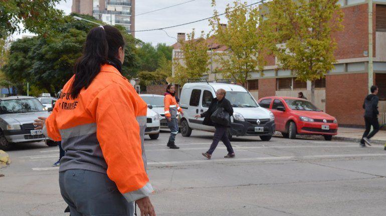 Cambian el sentido de circulación de una calle en el San Lorenzo