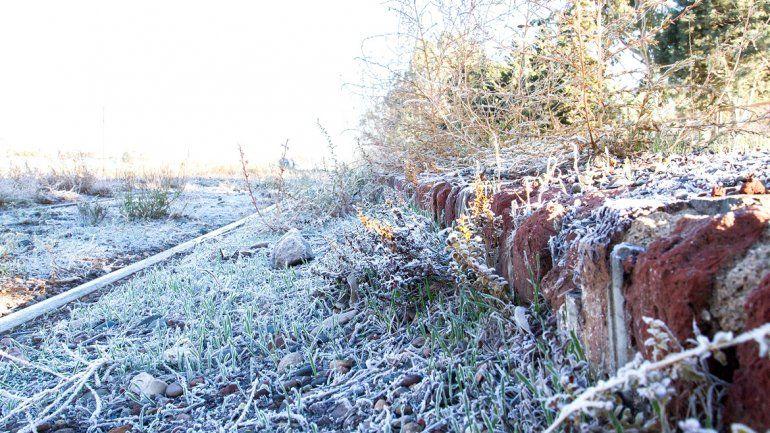 Mañana helada en el Valle: la térmica llegó a los -8,4°C