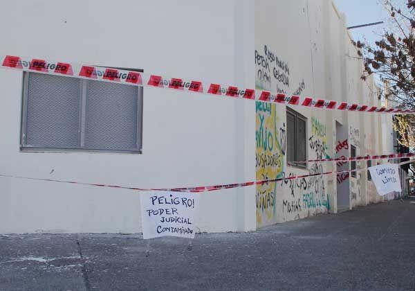 Blanquean pared de fiscalías locales