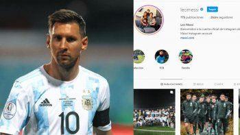 El guiño político que esconde el Instagram de Leo Messi