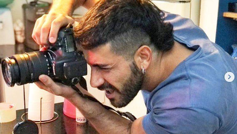Humberto es diseñador gráfico y fotógrafo, y las pruebas no afectan su profesión.