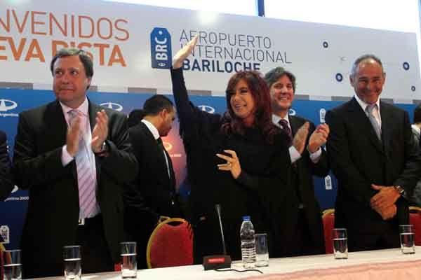 Weretilneck recibirá mañana a la Presidenta en Bariloche
