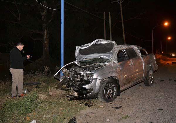 Violento choque en Stefenelli dejó tres heridos graves