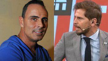Pablo Lunati y Sebastían Vignolo, otro episodio picante entre el ex-árbitro y el relator.