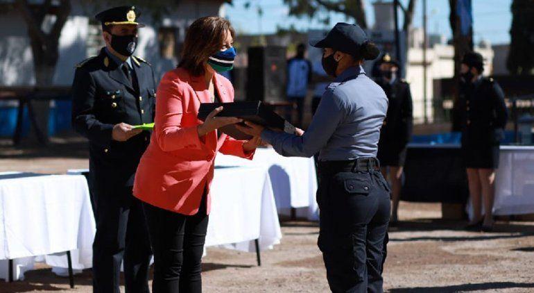 Río Negro sumó 126 nuevos agentes de policía