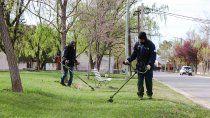 servicios publicos se enfoca en los trabajos de la primavera