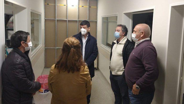Ultiman detalles para poner en funcionamiento la terapia intensiva del hospital de Allen