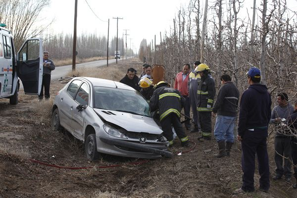 Accidente de tránsito en Allen