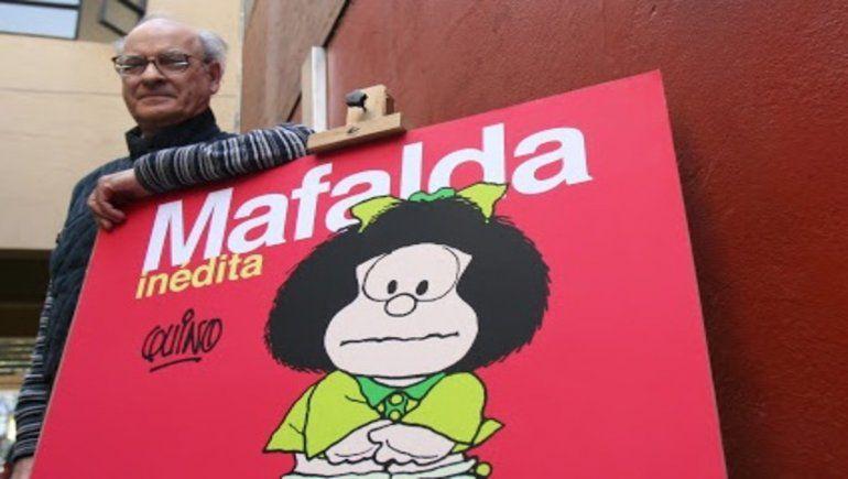 Tristeza total: murió Quino, el creador de Mafalda