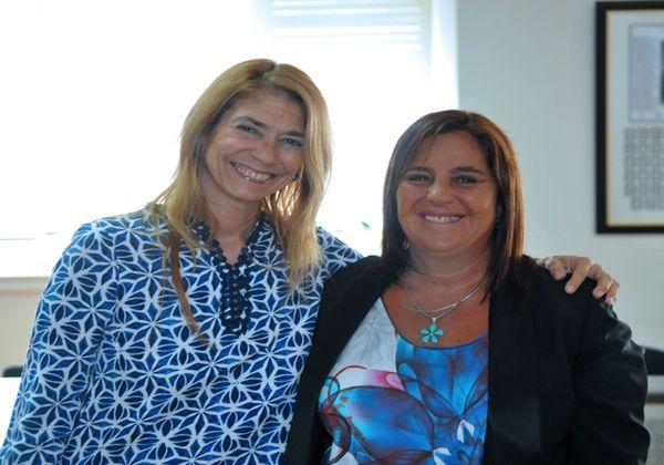 Bongiorno se reunió con la ministra de Industria de la Nación