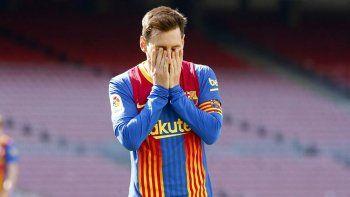 A Messi le quedó una deuda grande en el Barcelona.