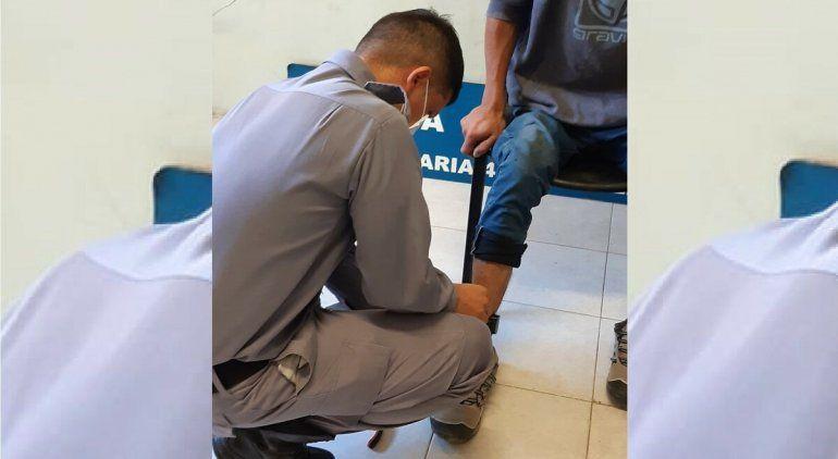 Quedó preso con pulsera electrónica por romper la cuarentena