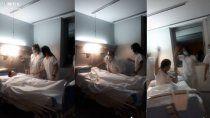 tiktok polemico: enfermeras se burlan de un muerto por covid