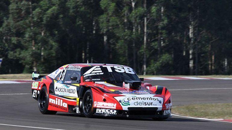 Urcera metió la Chevy en el segundo lugar y se mostró confiado de poder conseguir la pole.