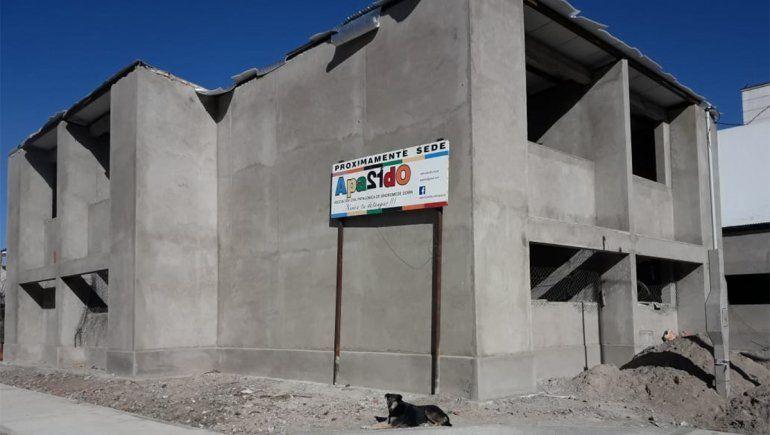 No falta demasiado para concluir las tareas pendientes de la construcción de la sede en el barrio Arévalo.