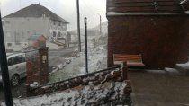 una nevada en pleno verano sorprendio a copahue