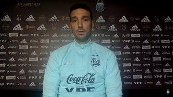 Scaloni le respondió al Cholo Simeone: Charlamos con Diego