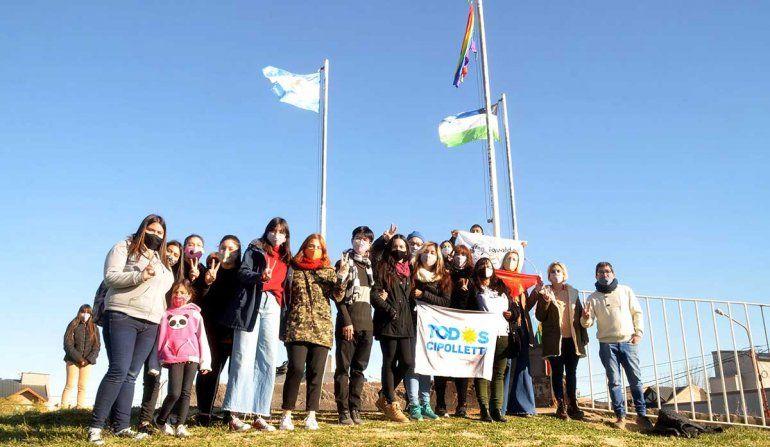 Conmemoraron en Cipolletti el Día del Orgullo LGBTIQ+