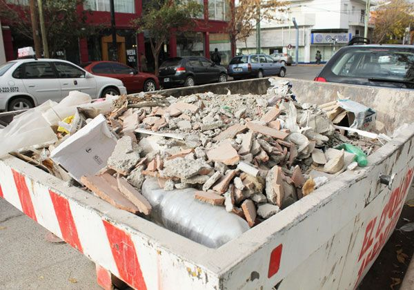 La comuna comienza a cambiar los contenedores por canastos comunitarios