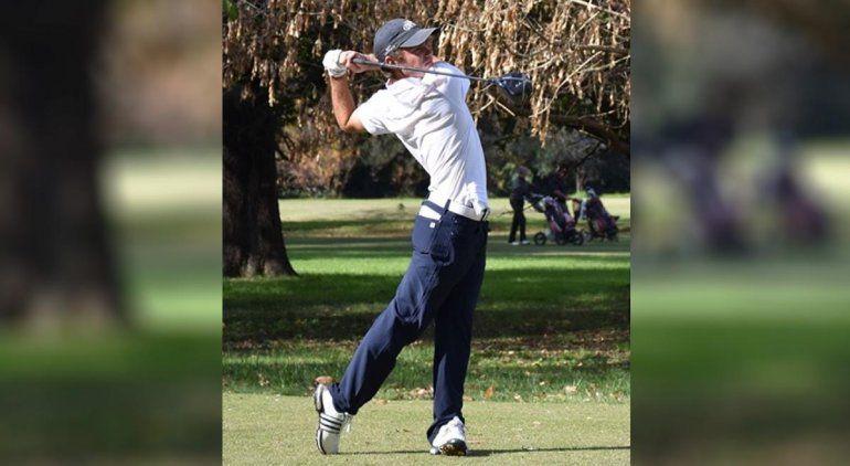 Un golfista rionegrino alcanzó el sexto lugar en el torneo Super Major Red River
