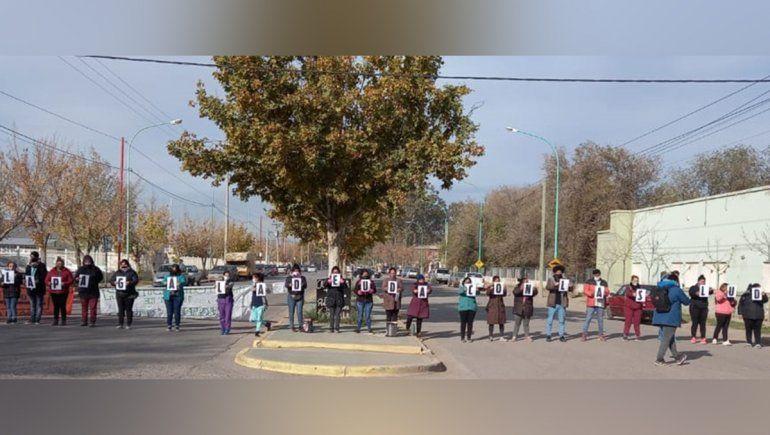 Autoconvocados de salud se manifestaron en las calles cipoleñas