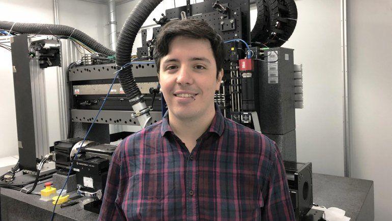 Del Alto Valle a Alemania para revolucionar los nanomateriales