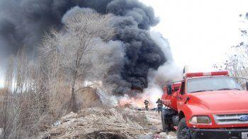 Día de mucho trabajo para los bomberos cipoleños