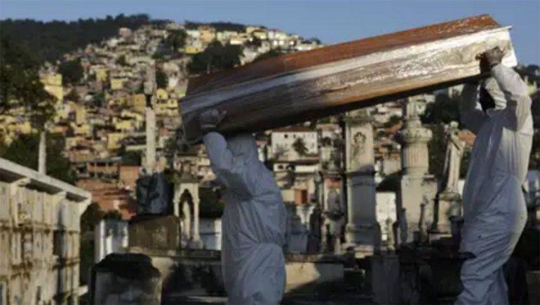 Con 888 muertes, Brasil registró un nuevo récord de casos en un día con 19.951 positivos