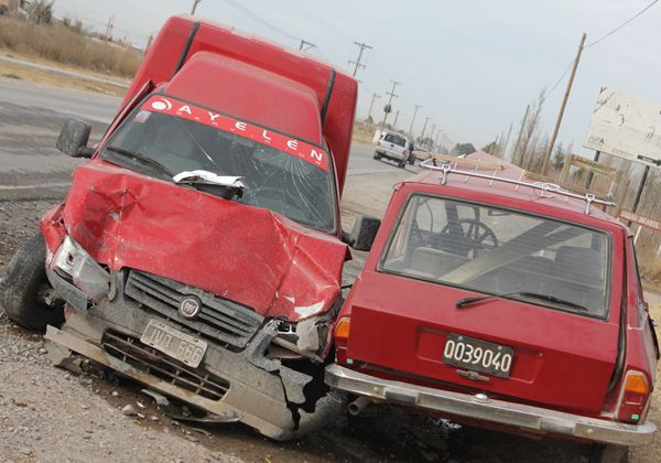 Dos heridos en la Ruta 65 tras un violento choque