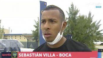 Villa rompió el silencio: el video polémico y el pedido de perdón a los hinchas