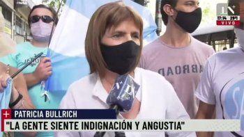 Bullrich reclamó en la marcha del #27F: Ojalá el Presidente pida perdón