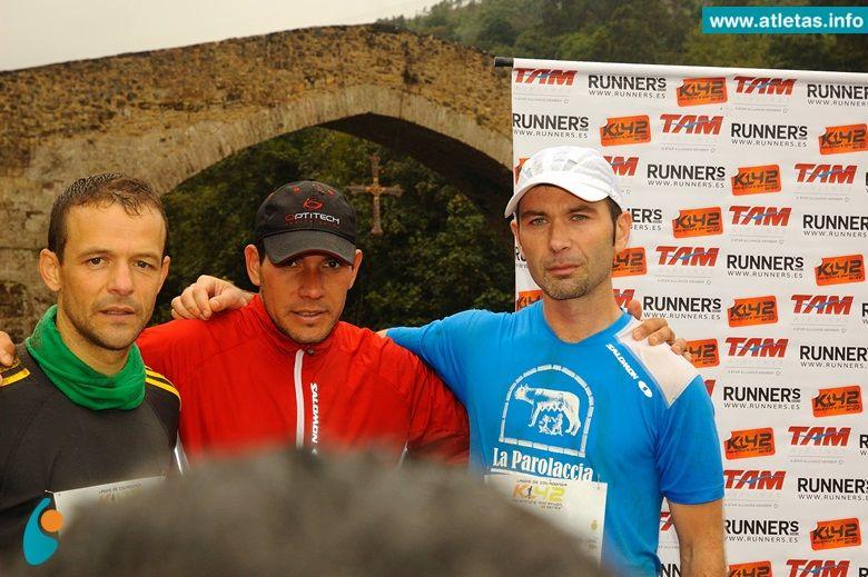 Gustavo Reyes ganó el K42 Asturias (España)