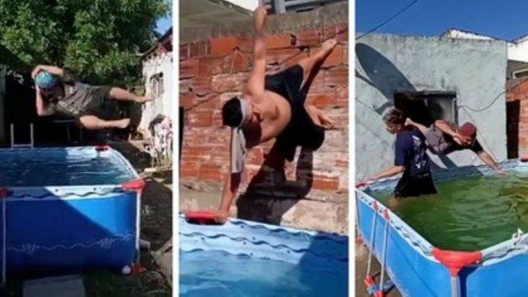 Video: Papurri y Luisito, un boom viral que les sirvió para tener agua caliente