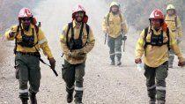 combatieron los incendios en la comarca y se contagiaron de covid