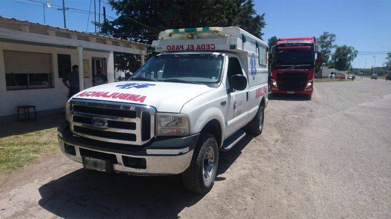 Insólito: intentaron contrabandear tres costillares en una ambulancia