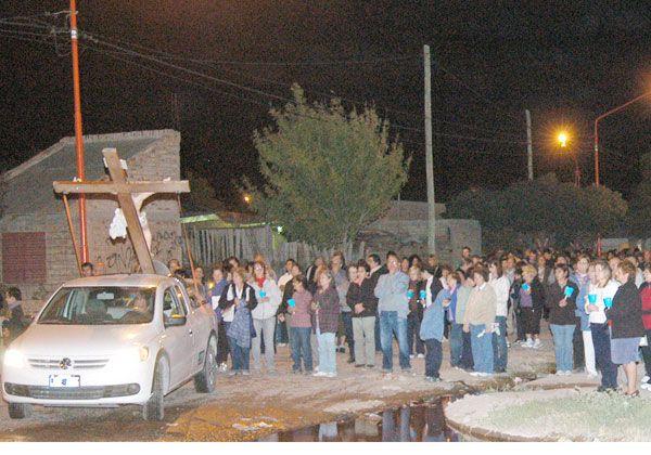 El Vía Crucis se hará en el barrio CGT