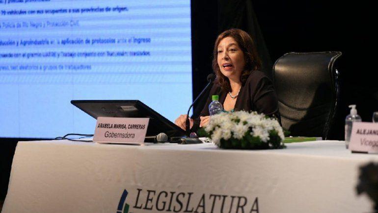 Carreras anunció convenios con 26 municipios por más de $318.000.000